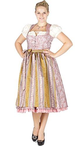 Julia Trentini 14716 Dirndl Kathi 70 rosa bianco Colore: rosa. 48