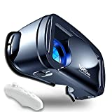 VR Headset Virtual Reality Glasses Compatible with Phone/Android New Goggles for Movies Compatible 5-7 Inch Soft Comfortable Adjustable Distance