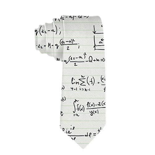 SARA NELL Men's Classic Woven Business Tie Silk Necktie Math...