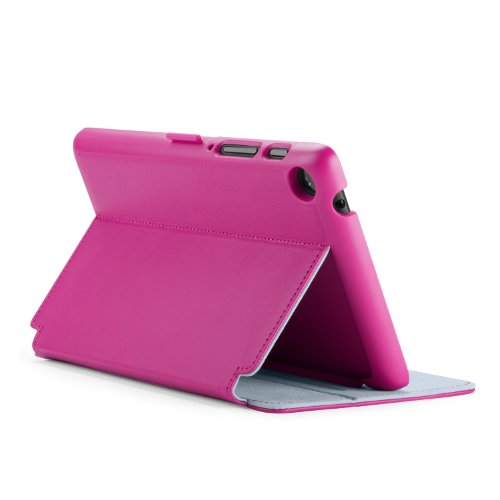 Speck Products Stylefolio Case and Stand for Google Nexus 7 Tablet, Fuchsia Pink/Nickel Grey (SPK-A2373)