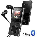 AGPTEK 16Go Haut-Parleur MP3 Bluetooth 4.0 avec Boutons Tactiles, Lecteur...