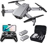 Tomzon D25 RC Drone con cámara 4K, Drone para Principiantes, Posicionamiento de la luz, Fotografía...