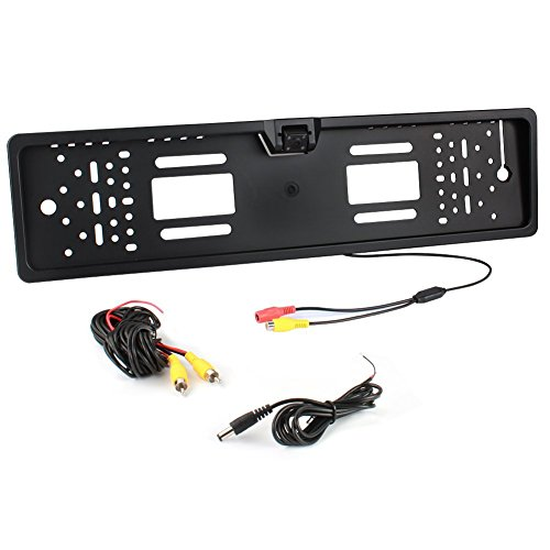 Homelink Auto Telecamera Retromarcia 4 LED a 170 angolo Visione Camera 170°