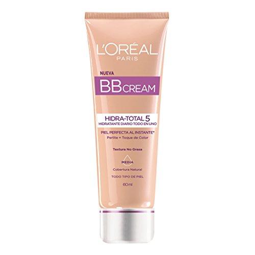 L'Oreal Paris Bb Cream, Hidra Total 5, 60 ml