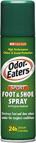 Odor-Eaters, Sport, 24 Hour, Odour Destroying, Anti-perspirant, Foot and Shoe Spray, for Sport Shoes