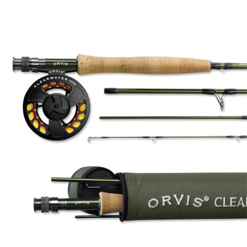 Orvis Clearwater Fly Rod Outfit 905-4 - 5wt 9ft 0in 4pc