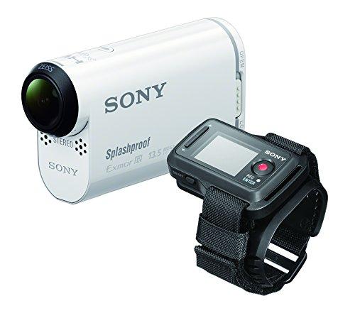 SONY メモリースティックマイクロ/マイクロSD対応フルハイビジョンアクションカム HDR-AS100VR(ライブビューリモコン付き)