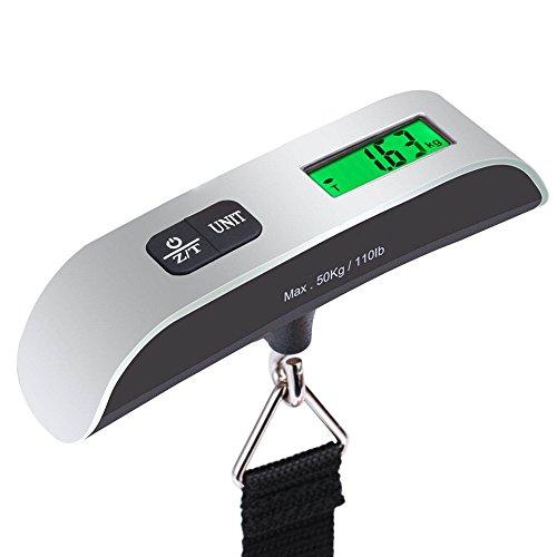 Pèse Bagages Portable Échelle de Bagage Electronique Balance Suspendue...