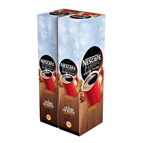 Nescafé Café soluble natural - 2 estuches x 50 sobres de 2