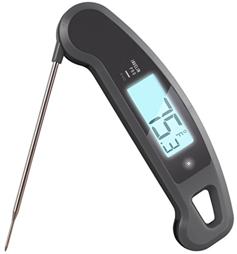 Lavatools Javelin PRO Duo Ambidextrous Backlit Instant Read Digital Meat Thermometer