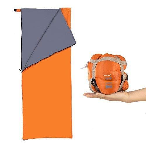 Lixada Sac de couchage Camping Voyage Randonnée Multifonction ultra léger...