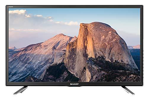 Sharp Aquos LC-24CHG5112E - 24' HD Ready LED TV, DVB-T2/S2, 1366 x 768 Pixels, Nero, 2xHDMI 1xUSB,...
