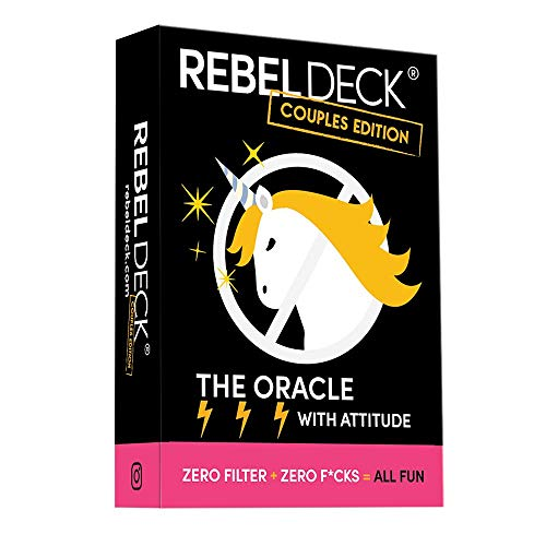 REBEL DECK Couples Edition- The Oracle with Attitude- Love...