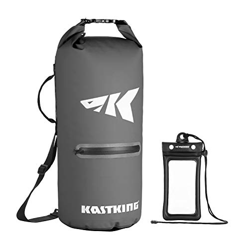 KastKing Cyclone Seal Dry Bag - Best-in-Class 100% Waterproof Bag with Phone Case Front Zippered...