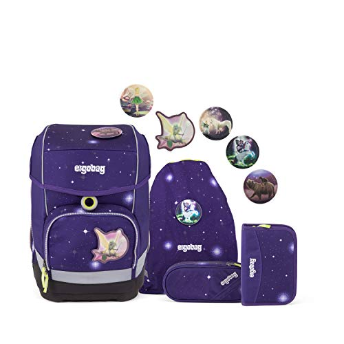 ergobag Deportivo Purple Galaxy Glow
