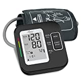 Blood Pressure Monitor for Upper Arm, LOVIA Accurate Automatic Digital BP Machine for Home Use & Pulse Rate Monitoring Meter with Cuff 22-40cm, 2×120 Sets Memory,Fda Approved