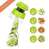 Sedhoom Coupe légume Spiralizer Spaghetti légume 4en1 Spirale de Légumes...