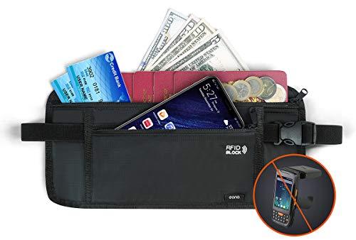 Eono by Amazon - Ceinture porte-monnaie pour les voyages, pochette de...