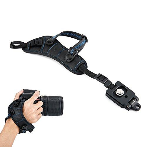 JJC–Correa de mano correa para la muñeca Grip con Arca tipo placa para cámara réflex digital Canon Nikon Olympus Sony Panasonic Pentax