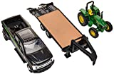 ERTL Ford Pickup with Gooseneck Trailer & John Deere Tractor