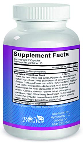 Rapid Tone Plus Weight Loss Supplement- Supports Rapid Fat Burn, Carb Blocking & Metabolism Boost- (1 Month Supply) 2