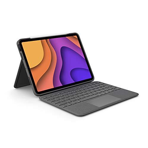 ロジクール iPad Air 第4世代用 トラックパッド付き キーボードケース Smart Connector 接続 Folio Touch i...