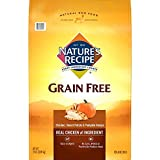 Nature's Recipe Grain Free Dry Dog Food, Chicken, Sweet Potato & Pumpkin Recipe, 24 Pounds, Easy to Digest