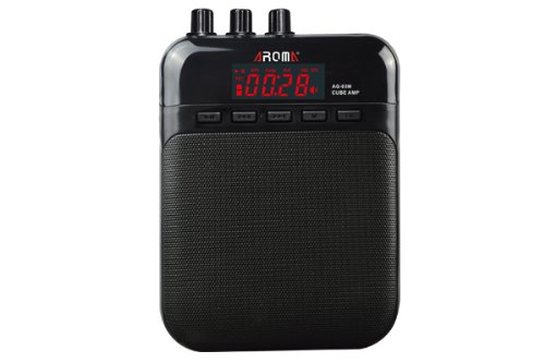 Guitar mini practice Amp Amplifier USB rechargeable with distortion & recorder
