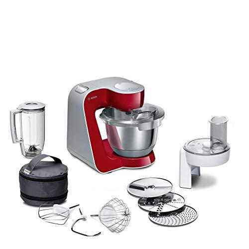 Bosch MUM58720 CreationLine Robot de cocina, 1000 W, color rojo
