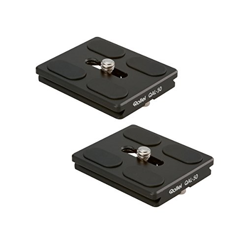 Rollei QAL-50 I plaque de fixation rapide pour appareil photo professionnel...