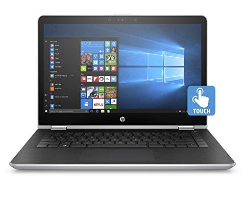 HP Pavilion x360 14-ba024nl Notebook Convertibile, Intel Pentium Gold 4415U, RAM da 8 GB, SSD da 128...