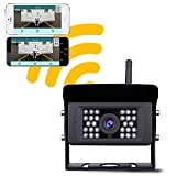 Wireless Backup Camera, LASTBUS Night Vision Wide View Angle IP69...