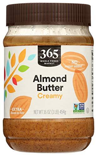 365 Everyday Value, Almond Butter, Creamy, 16 oz