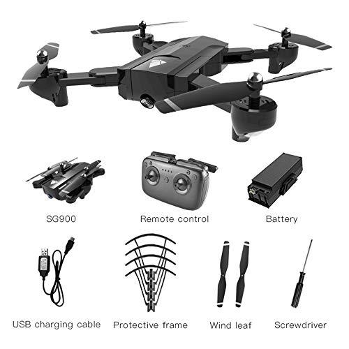 leenBonnie SG900 Pieghevole Quadcopter 720 P Drone Quadcopter WiFi FPV Droni Portata Ottica Posizionamento RC Drone Elicottero con Fotocamera