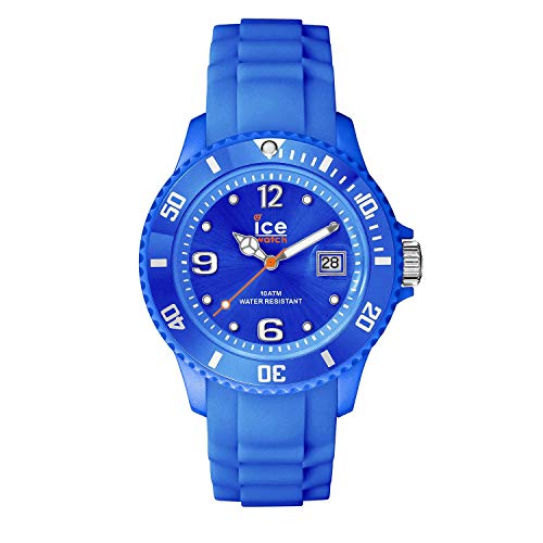 Ice-Watch - Ice Forever Blue - Blau Herrenuhr mit Silikonarmband - 000135 (Medium)