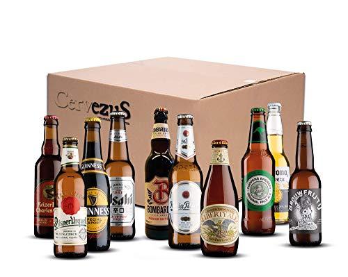 Cervezas del Mundo Regalo (Pack 10 variedades) - Pack Cervez