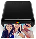 Polaroid ZIP POLMP01B - Stampante Portatile, Bluetooth, w/ZINK Tecnologia Zero Ink Printing, 5 x 7.6 cm, compatibile iOS e dispositivi Android, nero