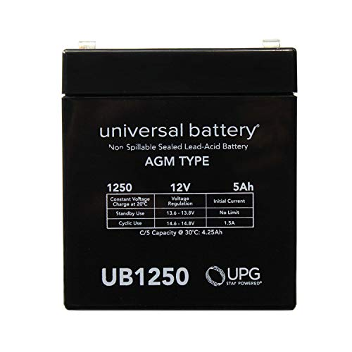 Universal Power Group 12V 5AH SLA Battery Replacement for Ion Audio Job Rocker Sound System