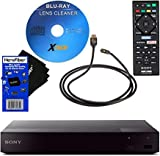 Sony BDPS6700 4K-Upscaling Blu-ray Disc Player with Super Wi-Fi + Remote Control + Xtech Blu-ray...