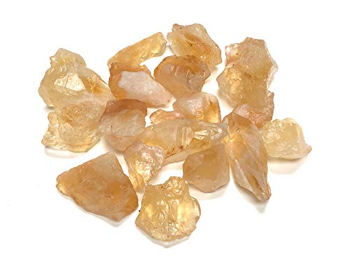 Zentron Crystal Collection: Rough Citrine Crystal Stone,...