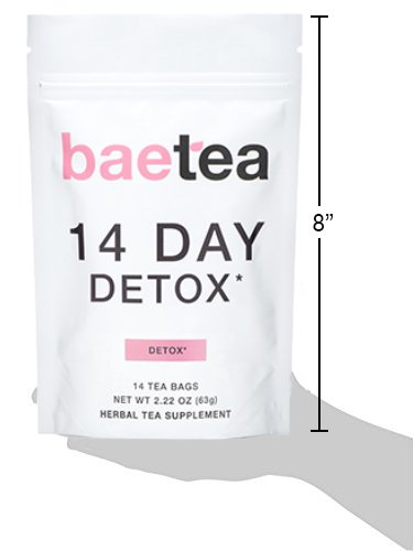 Baetea 14-Day Teatox Herbal Detox Tea Supplement with Green Tea & Ginger Root, 14 Tea Bags 3 - My Weight Loss Today