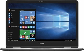 """Top Performance Dell 7000 Series Inspiron 2-in-1 17.3"""" Touch-Screen FHD IPS Laptop, Intel Core i7-7500U, 16GB DDR4 RAM, 1TB HDD, Dedicated Graphics 2GB, Backlit Keyboard, Bluetooth, HDMI, Windows10"""