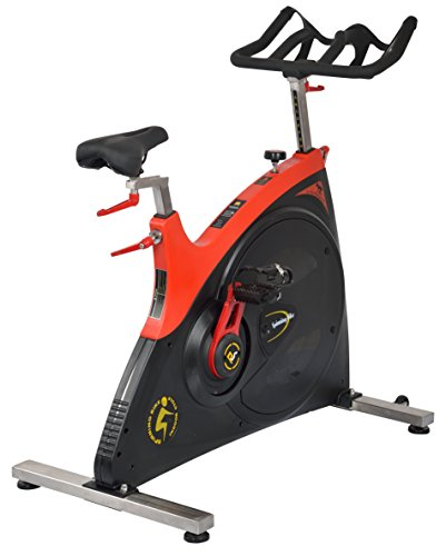IRIS Fitness Club Revolution Cycle Trainer Commercial Spin Bike - 24 kgs Flywheel