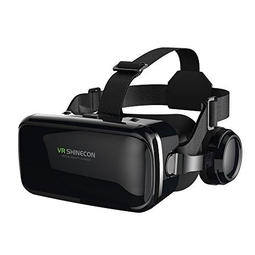 FIYAPOO 3D VR Gafas de Realidad Virtual, VR Glasses Visión...