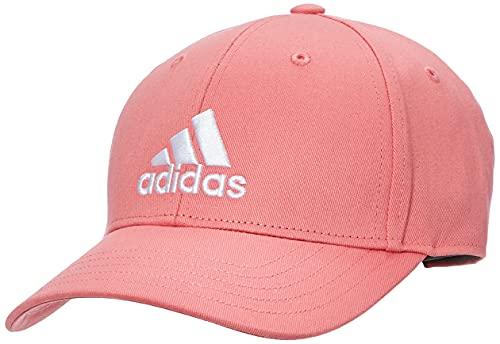 adidas GM6272 Bball cap COT Cappellino Unisex - Adulto Hazy Rose/Hazy Rose/White OSFW