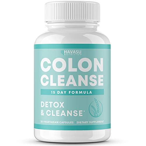 Havasu Nutrition Colon Cleanse for Detox and Weight Loss 15 Day Fast-Acting Extra-Strength Detox Cleanse and Natural Laxative for Constipation and Bloating Relief; Full Body Detox; 30 Count 1 - My Weight Loss Today