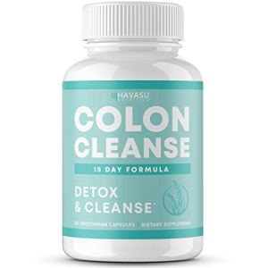 Havasu Nutrition Colon Cleanse for Detox and Weight Loss 15 Day Fast-Acting Extra-Strength Detox Cleanse and Natural Laxative for Constipation and Bloating Relief; Full Body Detox; 30 Count 3 - My Weight Loss Today
