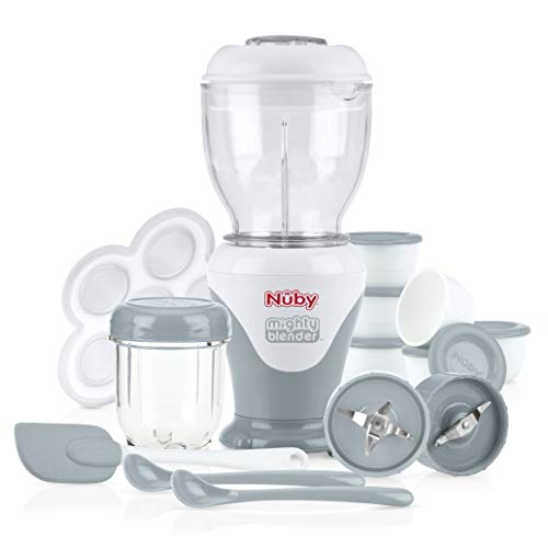 Nuby Garden Fresh Mighty Blender with Cook Book,...