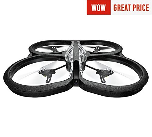 Parrot PATPF721009AA AR.Drone 2.0Power Edition Snow(Gadgets  Drones)