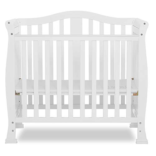 Product Image 1: Dream On Me Addison 4-in-1 Convertible Mini Crib in White, Greenguard Gold Certified